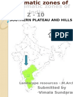 Agro Climatic Zones of India - Zone 10
