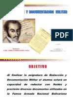 Redacción y Documentación Militar I - Copy