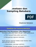 4. Pemetaan Dan Sampling Batubara