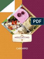 Cardápio Mesclatino