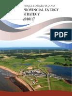 Stratégie énergétique sur 10 ans pour l'Île-du-Prince-Édouard (en anglais)