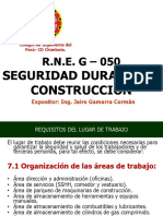G050 SEGURIDAD DURANTE LA CONSTRUCCIÓN.