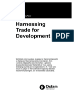 Harnessing Trade for Development