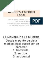 Necropsia Medico Legal
