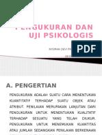 pengukuran dan uji psikologis