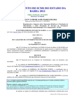 Decreto 2012 - Bahia