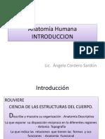 Anatomía Humana 1ERA CLASE 08 05