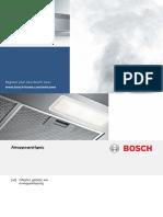 Απορροφητήρας Bosch-dfr067a50 (Εγκατάσταση)