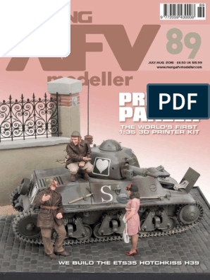 1//87TH SCALE 3D PRINTED WW II GERMAN CAPTURED FRENCH HOTCHISS H39 TANK