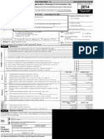 2014 ADSO Tax Return