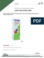 Alvityl Defenses Sirop Sans Sucres 240ml - Easyparapharmacie