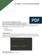 Basic Commands List 1