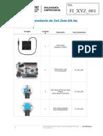 Inventario Zum Kit y Zum Extensión Kit