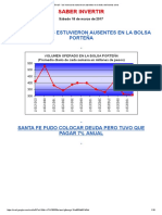 Los Inversores Estuvieron Ausentes en La Bolsa de Buenos Aires