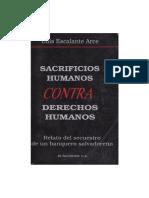 Sacrificios Humanos Contra Derechos Humanos