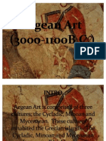 Aegean Art(Jose's report)