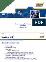 Machinery Safety BP Vertical Mill JC