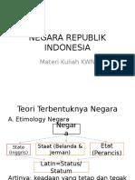 Negara Republik Indonesia