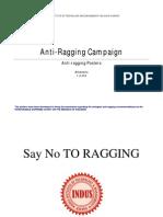 Anti Ragging Campaign