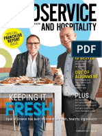 Foodservice and Hospitality February 2017