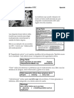 Etiquetas de Medicamentos OTC - Traducir