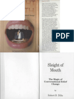 Robert Dilts - Sleight of Mouth - The Magic of Conversational Belief Change