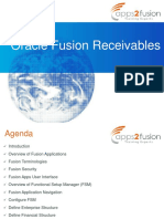 Fusion Apps - Receivables