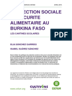 Social Protection and Food Security in Burkina Faso