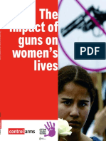 The Impact of Guns on Women's Lives