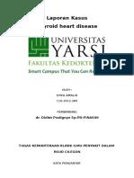 presentasi kasus thyroid heart disease