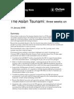 The Asian Tsunami