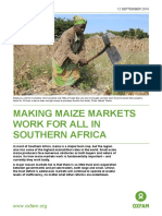 Making Maize Markets Work For All in Southern Africa