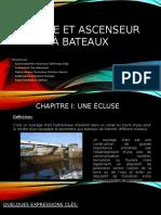 Ecluse Et Ascenseur à Bateaux