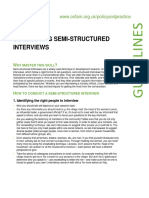 Conducting Semi-structured Interviews