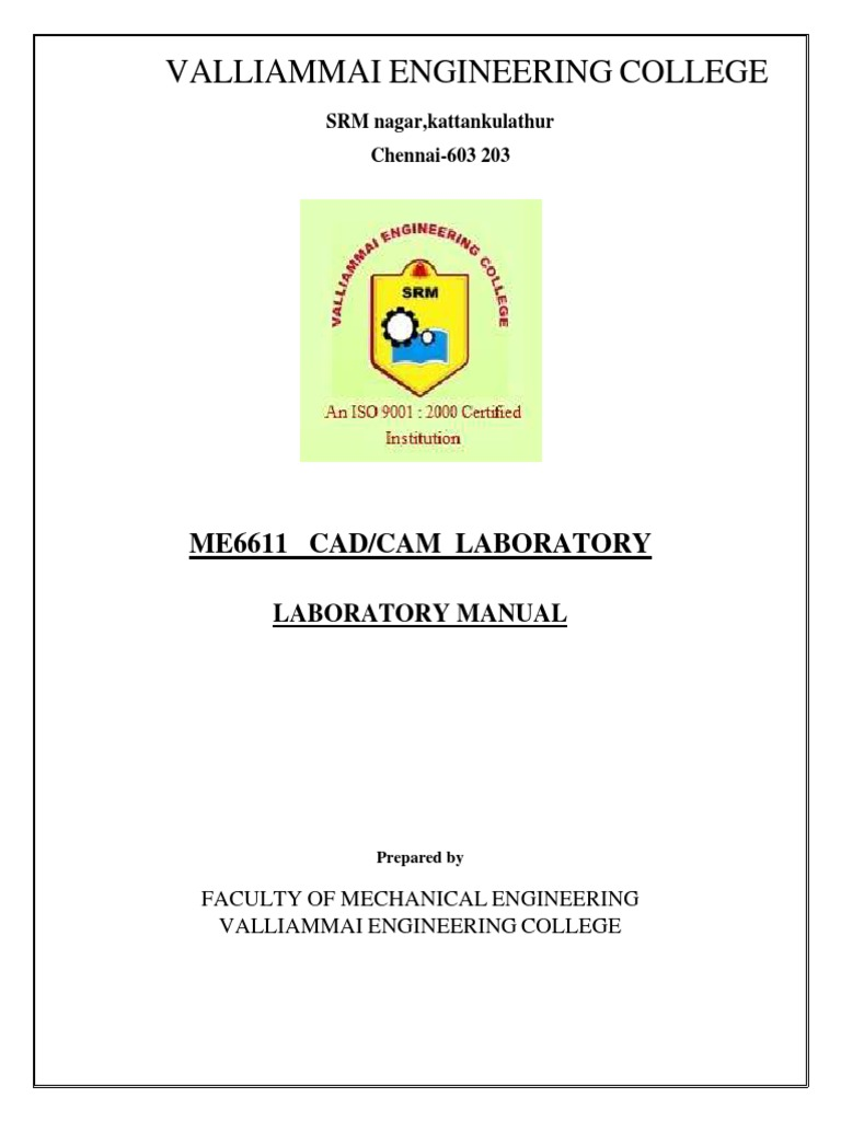Me6611-Cad Cam Lab | Rotation Around A Fixed Axis | Mechanical Engineering