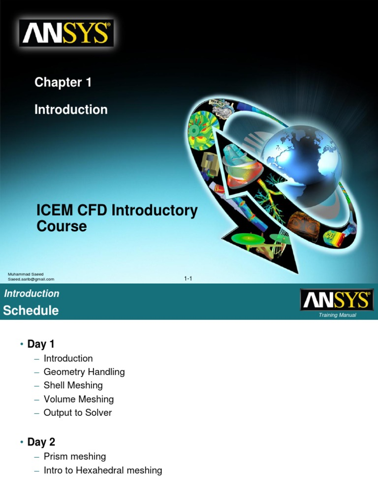 Worshop 1 ICEM pdf | Computer Aided Design | Computational