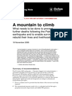 A Mountain to Climb