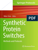 Synthetic Protein Switches Methods and Protocols (Methods in Molecular Biology)