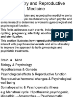 Psychiatry and Reproductive Medicine