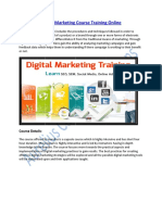 Get Digital Marketing Training & Take your Career another Level