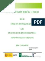Curso Certificación Energética 2