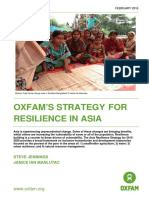 Oxfam's Strategy for Resilience in Asia