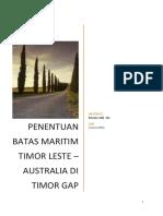 Timor Leste - Australia2