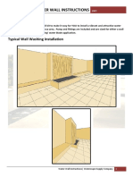 Waterwall Instructions