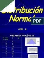 2.- Distribucion Normal y Prueba Tamiz