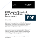 EU Hypocrisy Unmasked