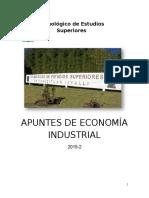 Apuntes de Economía Industrial