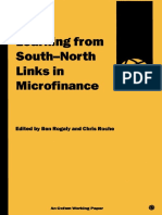 Learning from South-North Links in Microfinance