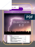 BrainStorm8 Conference Catalog