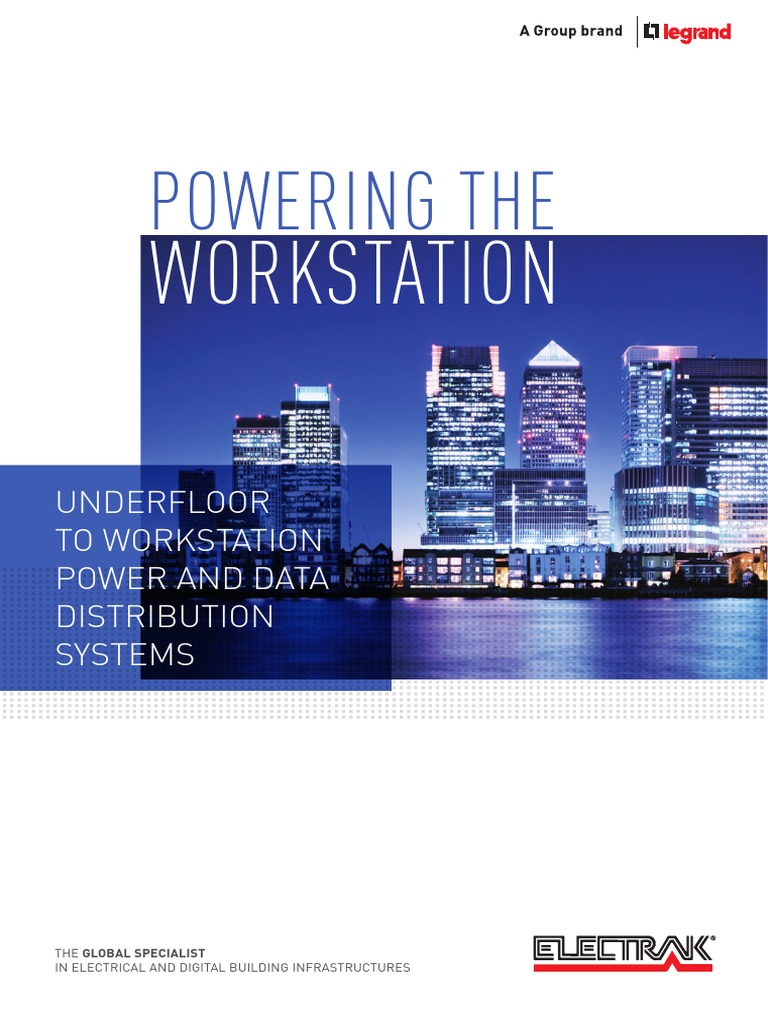 Electrak Underfloor To Workstationpdf Electrical Connector Iet Wiring Regulations Book 17th Edition Amendment 1 Pdf